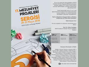 ODTÜ Endüstri Ürünleri Tasarımı Bölümü Mezuniyet Projeleri Sergisi