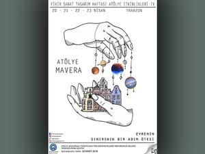 Fikir Sanat Tasarım Haftası Etkinlikleri 4 - Atölye Mavera