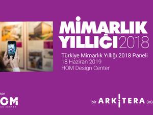 Türkiye Mimarlık Yıllığı 2018 Paneli