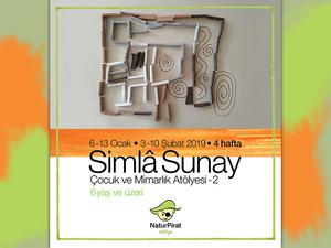 """Simla Sunay ile """"Çocuk ve Mimarlık"""" Atölyesi 2"""