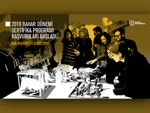 AURA-İstanbul Bahar Dönemi Sertifika Programı Başvuruları