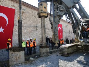 Taksim Camisi'nin Temelleri Atıldı