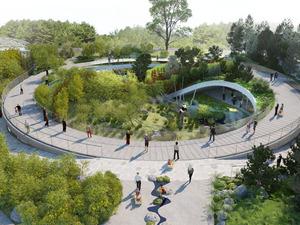 Kopenhag Hayvanat Bahçesi'ne Yeni Panda Evi Tasarımı