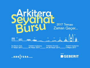 Seyahat Bursu 2017 Finalistleri Açıklandı