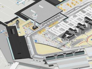 Schiphol Havalimanı'nın Yeni Terminalini Tasarlayacak Ekip Belli Oldu