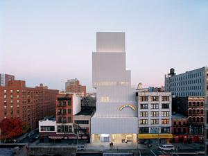 OMA, New York'taki New Museum'a Ek Bina Tasarlıyor