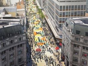 Oxford Caddesi İçin Yayalaştırma Çalışmaları Başlıyor