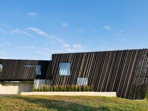 Japon Ahşap Karartma Tekniğiyle Yapılmış Bir Ev