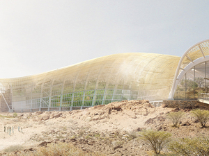 Arap Yarımadasının En Büyük Botanik Bahçesi
