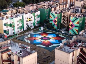 Boa Mistura'nın Sokak Sanatı Projesi 'Nierika'