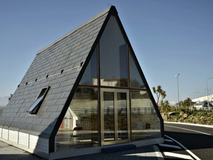 İtalyan Mimardan Katlanır Ev