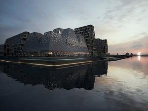 Kopenhag Rıhtımına Kengo Kuma & Associates Tasarımı Kültür Merkezi