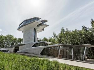 Zaha Hadid'in İlk Özel Konut Projesi Tamamlandı