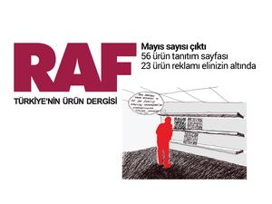 RAF Ürün Dergisi'nin Mayıs Sayısı Çıktı!