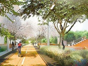 Şehir Merkezinde Lineer Bir Park - Taichung Yeşil Koridoru