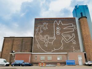 30 Yıl Aradan Sonra Amsterdam'daki Mural Gün Yüzüne Çıktı