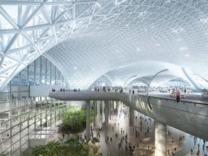 Foster + Partners ve FR-EE'nin Meksiko Havalimanı İnşası Tereddütlere Rağmen Devam Ediyor