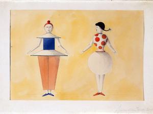 Oskar Schlemmer'in Triadic Balesi Bauhaus'a Geri Dönüyor