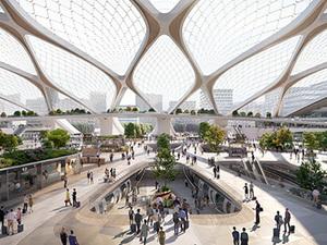 UNStudio ve Hardt Hyperloop'un Projesi Amsterdam Frankfurt Arasını 53 Dakikaya İndiriyor