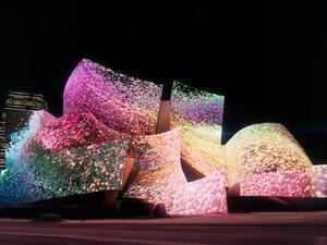Refik Anadol'un Desenleri Frank Gehry Tasarımı Walt Disney Konser Salonu'nu Süsleyecek