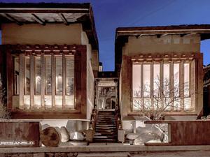 Zen Elementleri ile Süslü Otel