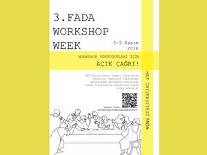 FADA Workshop Haftasına Açık Çağrı