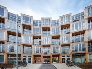 BIG, Kopenhag'da Sosyal Konut Tasarladı