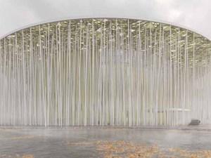 Bambu Ormanı Temalı Tiyatro Binası