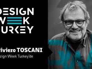 Oliviero Toscani Design Week Turkey'de