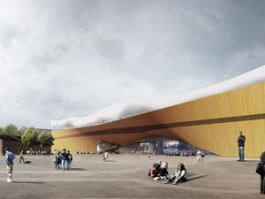 Helsinki'nin Yeni Kütüphane Binası: Oodi