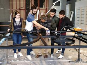 Bilgi'li Çıraklar Design Week Türkiye'de