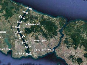 Kanal İstanbul'a 10 Köprü Yapılması Planlanıyor