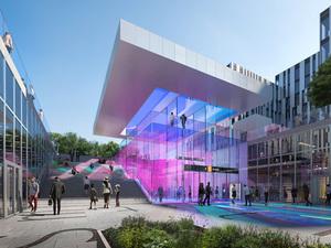 Zaha Hadid Architects Oslo'daki Yeni Metro Hattı İçin İstasyon Tasarladı