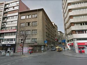 Şişli Maliye Şubesi Binası Yıkılıyor
