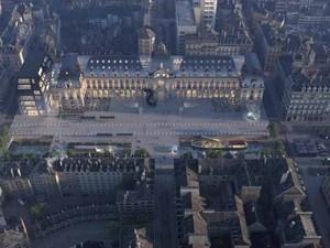MVRDV'den Rennes Merkezine Proje
