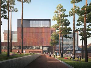 Brutalist Kütüphane Yapısına Yeni Çehre