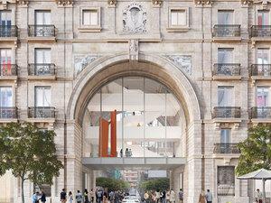 David Chipperfield ve Cruz y Ortiz Santander Bankası'nın İki İkonik Binasını Yeniliyor