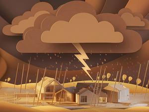 Animasyon Filmi ArchiPaper Kağıttan Yapılmış Soyut Bir Dünyaya Açılıyor