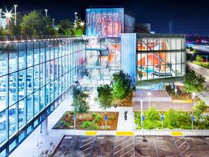 Frank Gehry Tasarımı Facebook Genel Merkez Ofisi