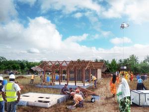 """Hindistan Kırsalında Açık Kaynaklı Tasarım """"Livingboard"""""""