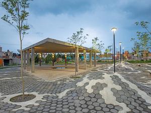 Banliyöyü Kentin Odak Noktasına Dönüştüren Bir Park