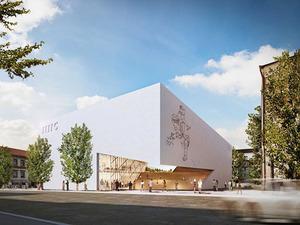 Daniel Libeskind'den Litvanya'ya Modern Sanat Merkezi