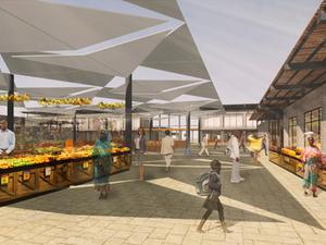 PAB Mimarlık'tan Senegal'de Kent Pazarları Projesi