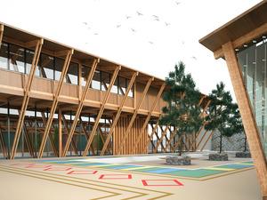 Öney Mimarlık'tan Anadolu'da Örnek Yeşil Okul Projesi