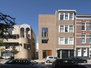Rotterdam'daki Tuğla Ev