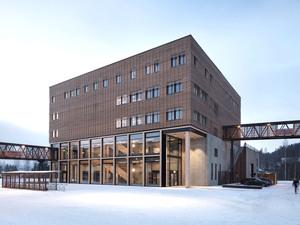 Gjøvik Universitesi Yeni Binası