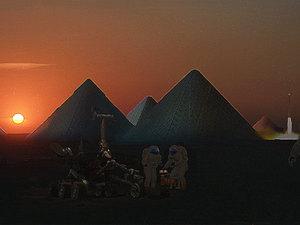 Halk Ödülü, Mars'ta Buzul Piramitler Şehri