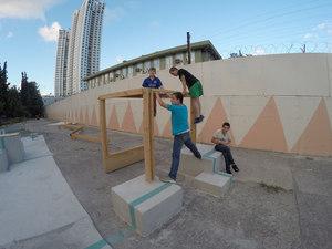 MEF 1. Sınıf Öğrencileri Okul Bahçesinde Oyun Alanı Tasarladı