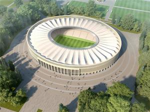 Krasnodar Futbol Stadyumu Mimari Uygulama Projesi