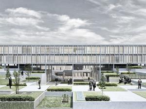 2. Ödül, Van İpekyolu Belediye Merkezi Mimari Proje Yarışması